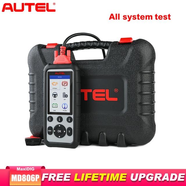 Autel MD806PRO Car Diagnostic Diagnostic AutoTool OBD2 Scanner Full System Code Reader better than LaunchX431 Autel MD805/MD802