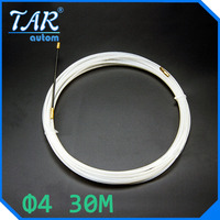 30 м нейлон кабель съемник extractor лидер для диаметром 4 мм кабеля электрика threading устройства сетевой кабель провод устройства