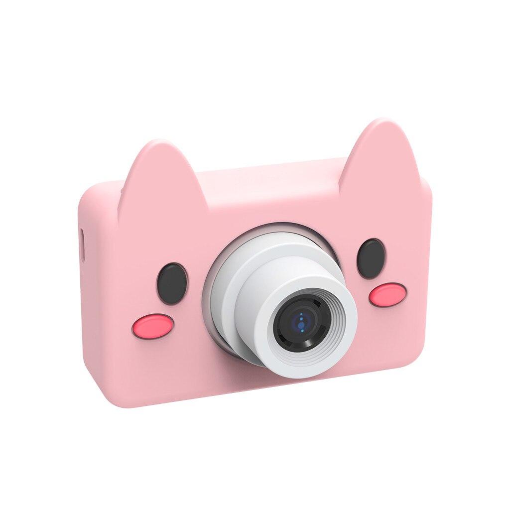 Enfants Jouet 8 cm Mimi Bande Dessinée Caméra 2019 Chaude! Compact Caméras Jouet Pour Enfants Cadeaux Solf Silicone Avec 8MP HD Vidéo Caméra