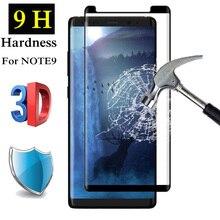 9H 3D полное покрытие Полный Клей закаленное стекло для SAMSUNG Galaxy Note 8 9 Note9 S8 S9 PLUS Note8 Защитная пленка для экрана, защита