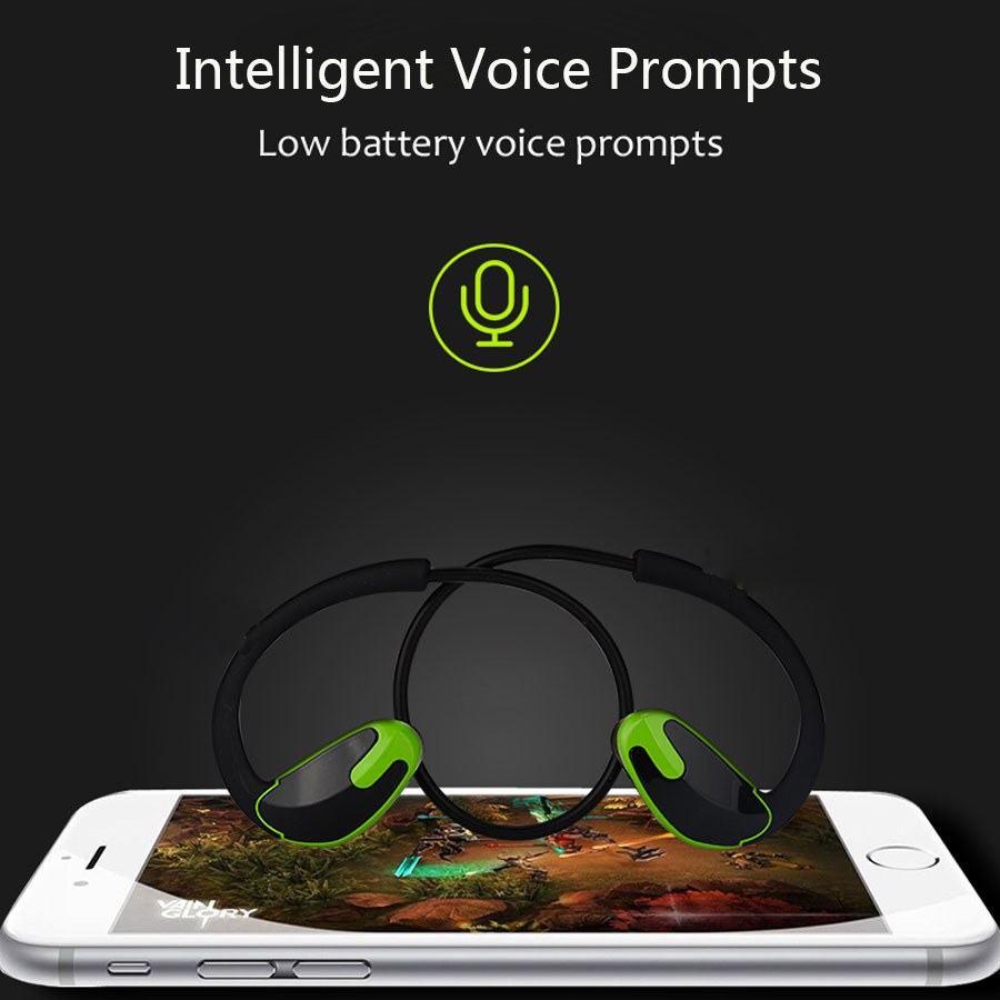 Super Bass Neckband Wireless Bluetooth Earphone Headphones Hands Free Sport Bluetooth Headset With Mic For iPhone Mobile Phone
