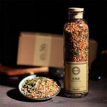 Топ-класса сенча генмайча риса рис натуральных органических специальный акция! коричневый китай