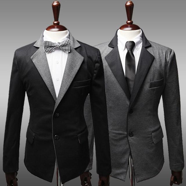 Envío gratis recién llegado de estilo clásico traje de hombre Gentle calidad grandes tamaños Chioce Blazers breasted Single venta al por mayor, MB009