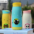 VILEAD 250ml 350ml 500ml Cartoon Stainless Steel Thermos Mug Garrafa Termica Bullet Cup Termos Vacuum Flasks Cup Office Bottle