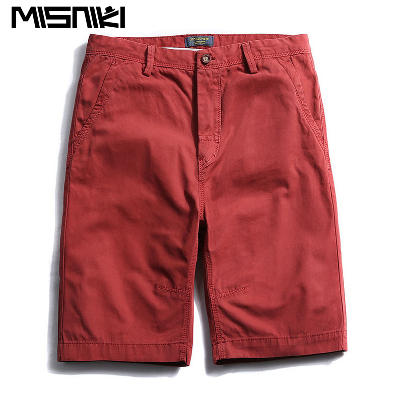 MISNIKI 2017 Hot Mens Shorts Cotton Casual Summer Shorts Men (Asian Size) ...