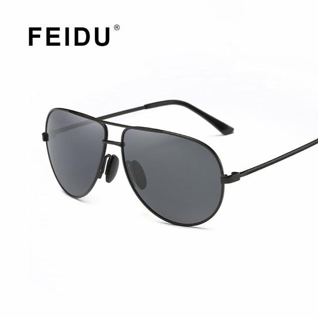 d668c6f41618 FEIDU 2016 Classic Polarized Pilot Sunglasses Men Alloy Frame Driving Sun  glasses For Men Fishing Outdoor Sport Oculos De Sol