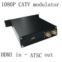 SKD2716, 1080P AV HDMI to ATSC encoder modulator Digital TV Headend QAM RF Modulator ATSC digital 1080P modulator