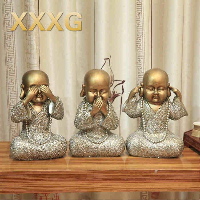 Xxxgfiguras Creativas Adornos De Resina Decoración Retro Artesanías