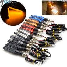 Für honda CBR900RR CBR1000RR CBR954RR CB600F HORNET 250 600 900 Universal 12V LED Motorrad Blinker Indikatoren Lichter/lampe