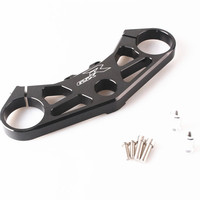 Front Fork Lowering Triple Tree Upper Top Clamp For Suzuki GSXR 1000 2005 2006 Aluminum Alloy