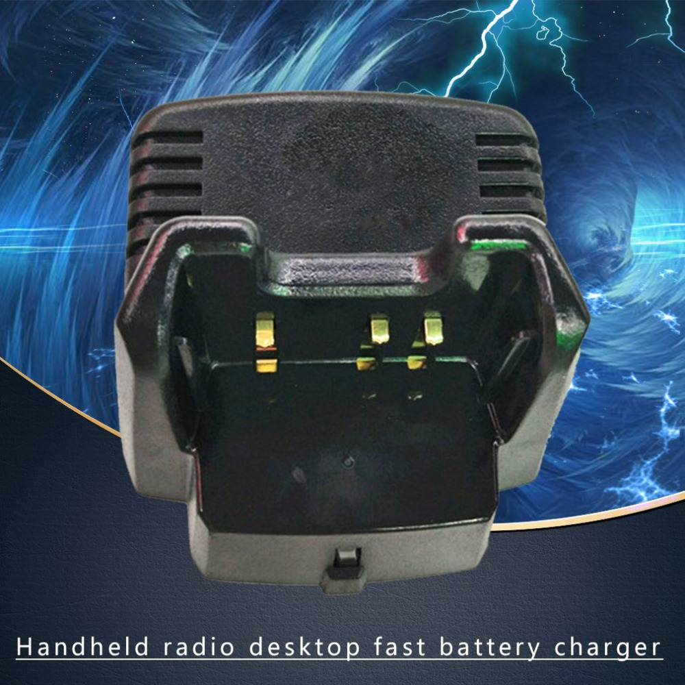 Applied Desktop Rapid Battery Fast Charger For Vertex Handheld Radio VX-351 VX-354 VX351 VX354 Radio CD-34(China)