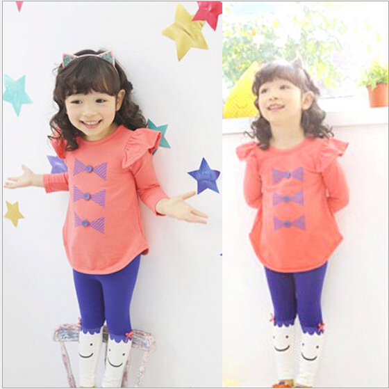 New 2016 spring autumn children clothing suits girls clothing set child sportswear set girl casual suit