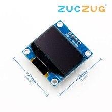 Белого и синего цвета цвет 128X64 O светодиодный ЖК-дисплей светодиодный Дисплей модуль для Arduino 0,96 I2C IIC Серийный с CaseI