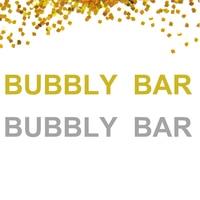 1 комплект Bubbly бар Блестящий золотистый Серебристый баннер с надписью, свадебный душ, девичник вечерние, Свадебный декор баннер с надписью ...