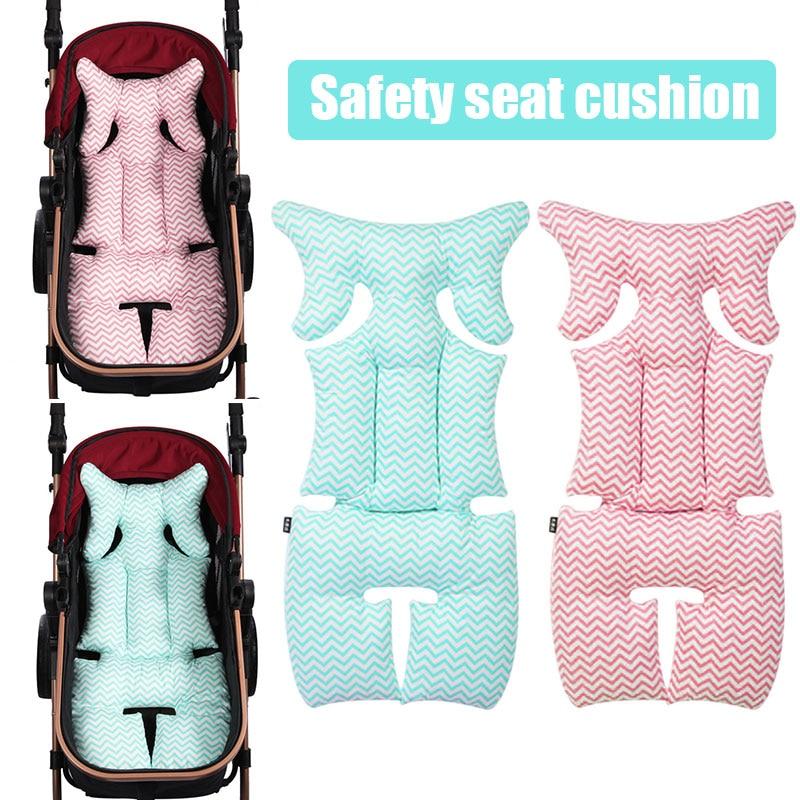 Прочный детское автокресло подушки синий розовый Поддержка Подушка для детского сиденья для детский, обеденный стулья Прямая