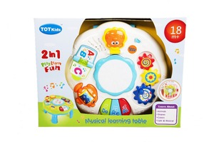 Image 5 - Baby Toys 13 24 Months Musical Games Table Educational M Toys For Baby Brinquedos Para Bebe Oyuncak Baby Boy Toys