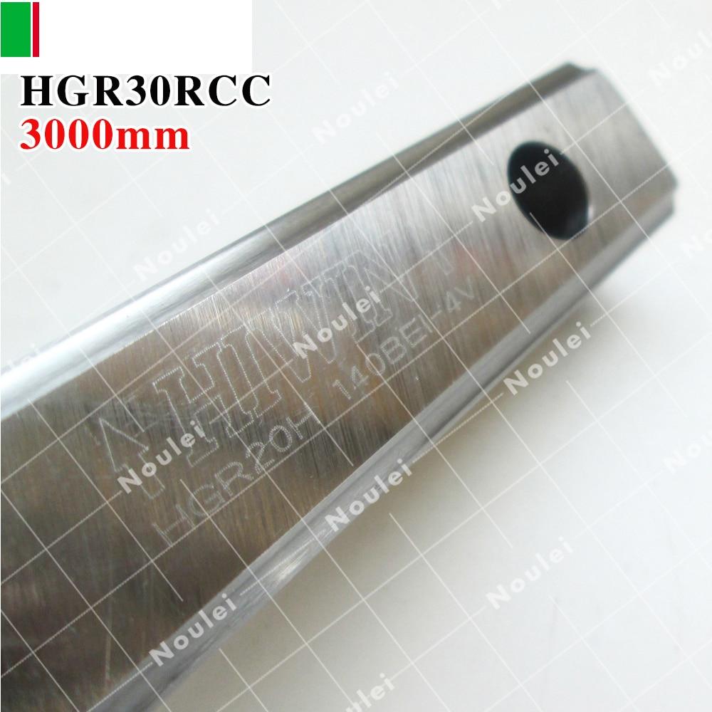 HIWIN HGR30R 3000mm Length Linear guide rail for cnc kit hiwin egr15 3000mm linear guide rail 3000 mm for custom length cnc kit