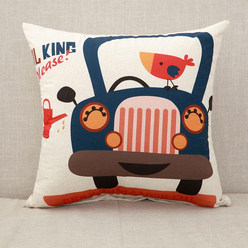 YWZN милый мультяшный чехол для подушки с котом, креативный чехол для подушки с изображением жирафа, декоративный чехол для подушки со слоном, funda cojin kussenhoes - Цвет: 7