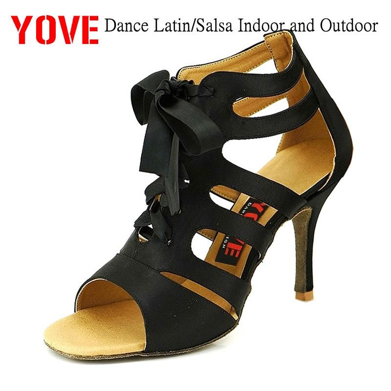 YOVE Style LD-7007 Dansschoenen Bachata / Salsa Dansschoenen voor binnen en buiten voor dames