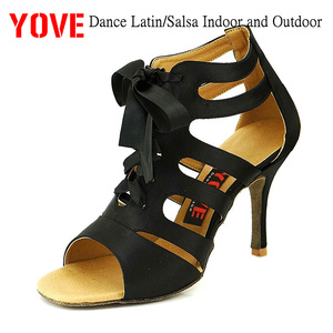 YOVE Style LD-7007 Dance shoes Bachata/Salsa Indoor and Outdoor Women's Dance Shoes