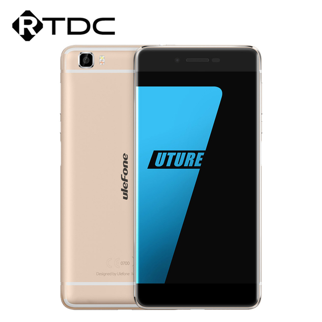 "In Stock Ulefone Future 4G LTE Bezel-Less Mobile Phone 5.5"" FHD Android 6.0 Octa Core 4GB RAM 32GB ROM 16.0MP Fingerprint ID OTG"