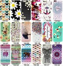 New Designs Beautiful Flowers Owl Elephant Aztec Colorful Unique Cases for iPhone6 iPhone 6 6S 4