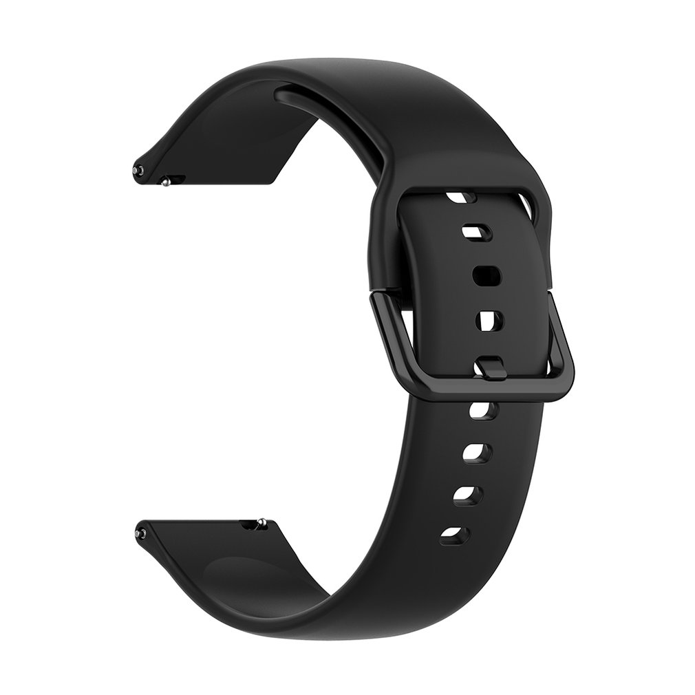 For Samsung Galaxy Watch Active (40Mm) Two-Color Silicone Strap R500 Straight Stripe Wristband (Conventional) DROPSHIPPING
