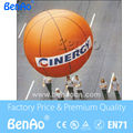 AO064  Free shipping  0.18mm pvc Inflatable basketball  helium balloon with logo/ Inflatable basketball balloon for advertising