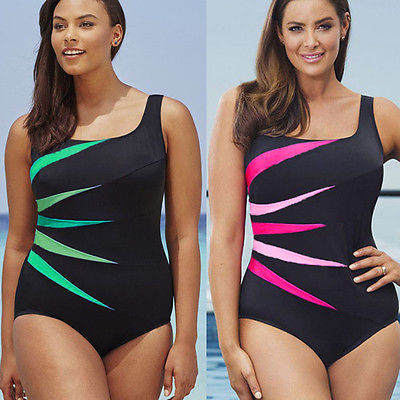 Summer PLUS SIZE Sexy Women One Piece Swimsuit Sleevless Black Push Up Bikini Swimwear Monokini Suit Beachwear xxxl one piece swimsuit push up plus size swimwear famale 2017 black backless bodysuit summer beachwear bathing suits monokini