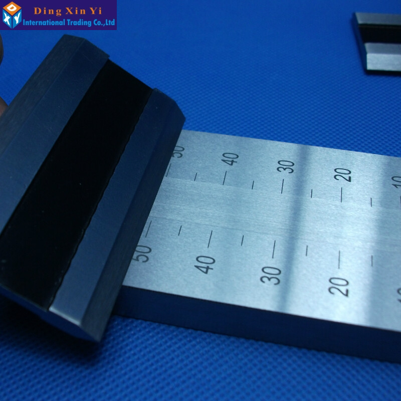 0-150um Stainless Steel single Groove fineness gage 25um/50um/100um/150um available Hegman fineness gauge