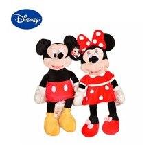 Новое поступление, мультяшная плюшевая игрушка Диснея Микки Минни Маус, плюшевая кукла Дисней, плюшевая игрушка для детей, подарки на день р...