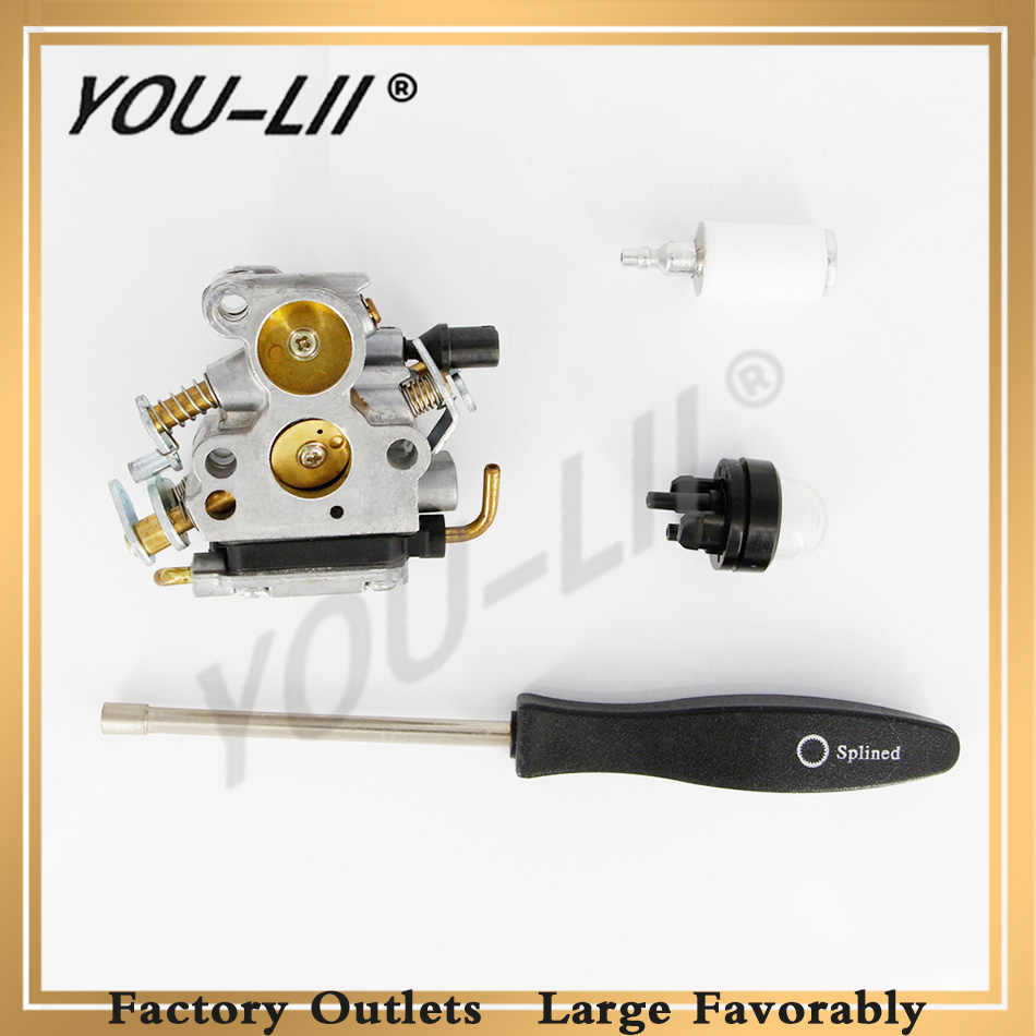 Detail Feedback Questions About Youlii Free Shipping Pd24j Redmax Fuel Filter Carburetor For Husqvarna 235 240 235e 236 236e 240e Chainsaw 574719402 545072601 With Screw Tool