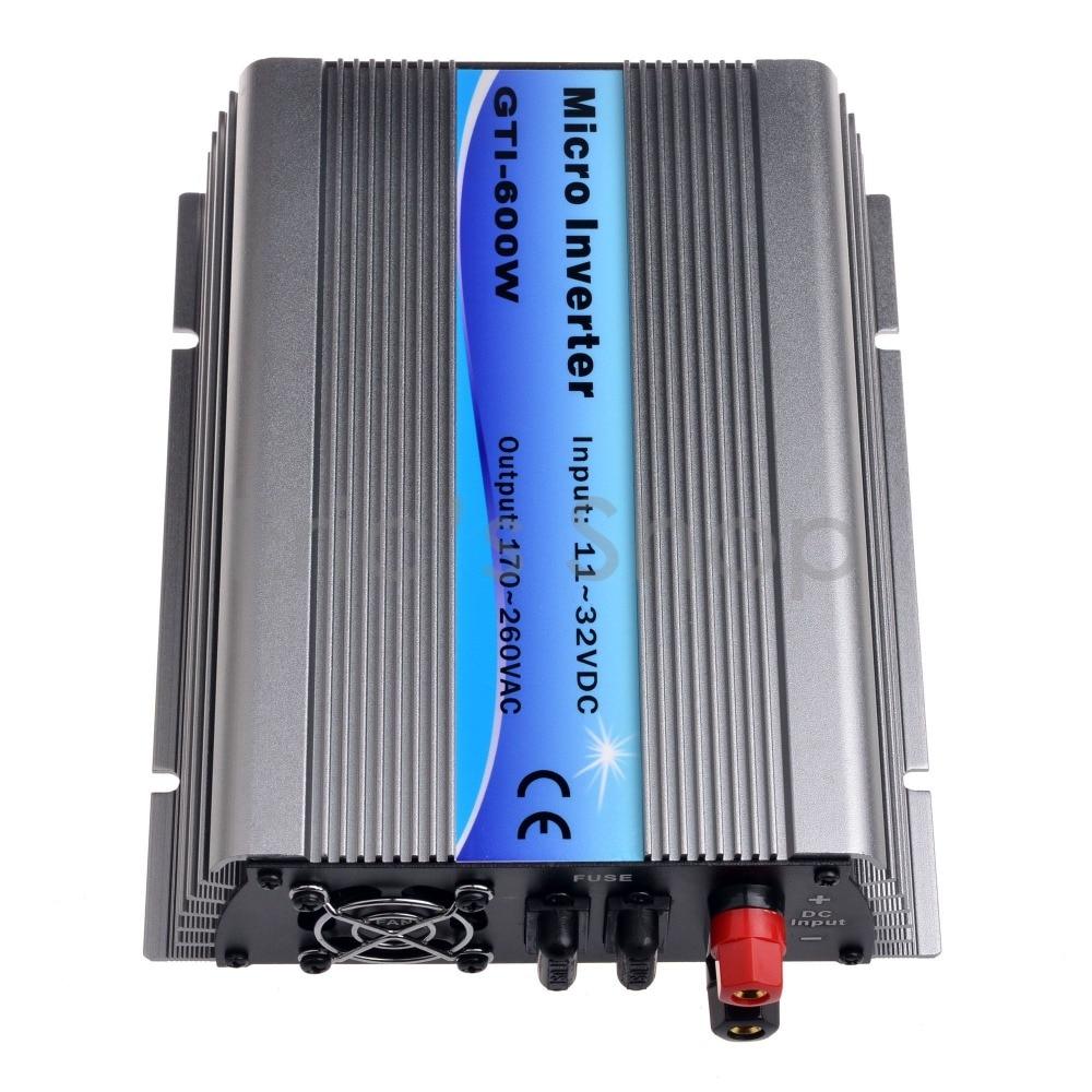300W Grid Tie Inverter DC11V-32V to AC220V Pure Sine Wave Inverter Use For 18V Panel 36cells 50Hz/60Hz Auto Solar Inverter 600w on grid tie inverter 18v panel 36cells 220v output dc to ac mppt function pure sine wave inverter
