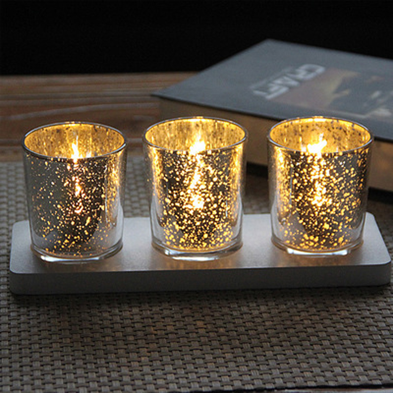 wedding decoration glass candle holders cup Pale gold plating candlestick valentineu0027s wedding day home decor freeshipping-in Candle Holders from Home ... & wedding decoration glass candle holders cup Pale gold plating ...
