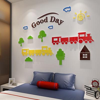Sticker d/écoratif Smiley face sticker mural Emoji Faces autocollant dessin anim/é chambre denfants