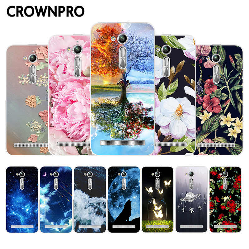 "CROWNPRO FOR ASUS Zenfone GO ZB500KL Silicone Case 5.0"" Soft TPU Back Cover ASUS Zenfone GO ZB500KL Phone Cases"
