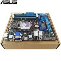 Original Used Desktop Motherboard For ASUS B75 B75M PLUS LGA 1155 Support I3 I5 I7 Cpu