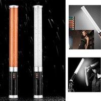 Портативный ручной 312 LED заполнения трубки видео свет лампы стержень затемнения Би цвет 3200 К/5600 К cri 95 + для DSLR Камера Аксессуары для фотостуди