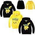 Toddler Kids Baby Boys Girls Clothes Cartoon Hoodie Long Sleeve Pokemon Pikachu Sweatshirt Pullover Jumper Tops