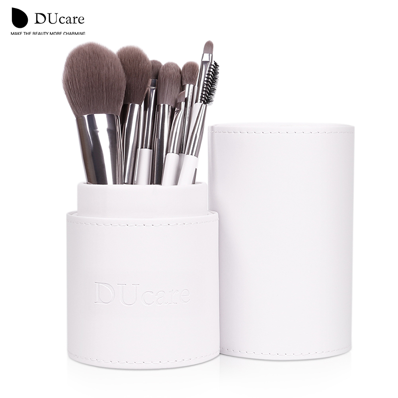 Makeup Brushes set Foundation eyeliner Eyebrow Lip Brush Tools cosmetics Kits make up kwasten Brush Set with White Holder стоимость