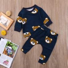 Kids Baby Boy Clothes Set Outfts