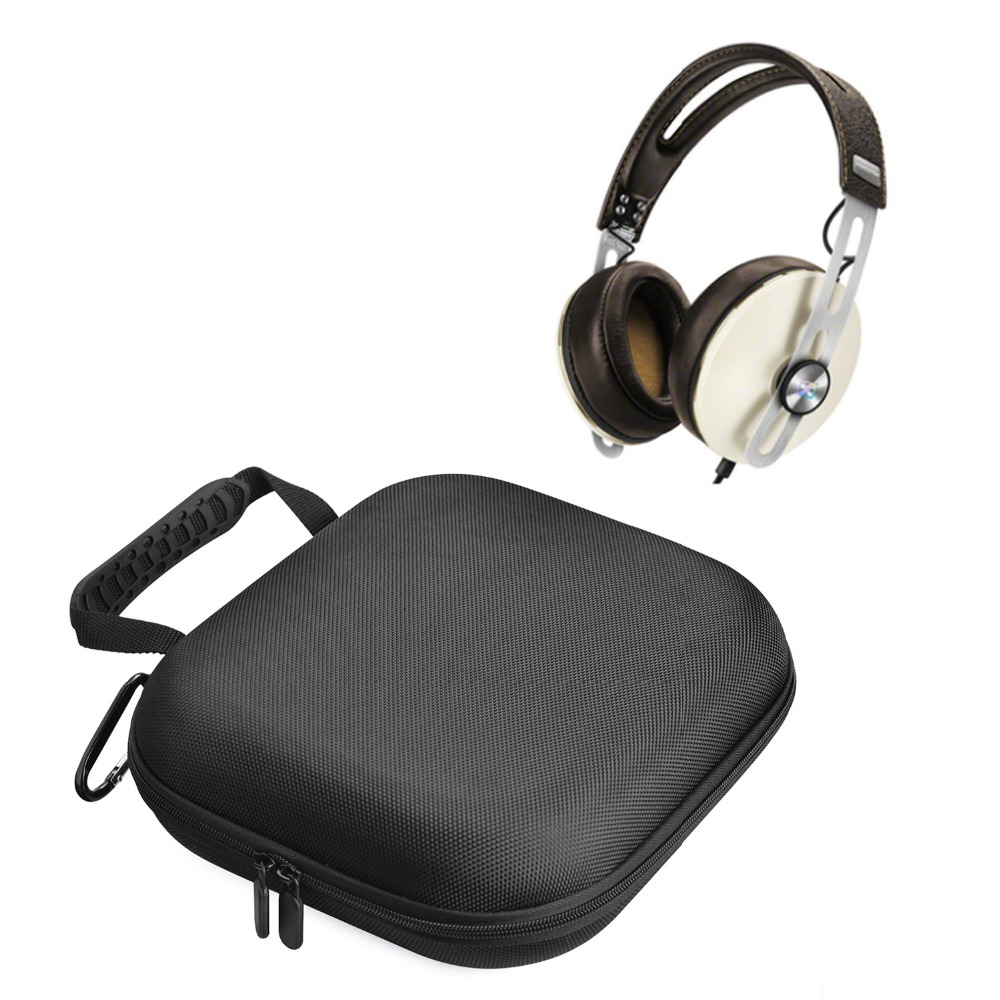 Newest Carrying PU EVA Hard Case Box & Bag Pouch Groups Case for Sennheiser Momentum & 2.0 Over Ear On Ear Headphone Headsets