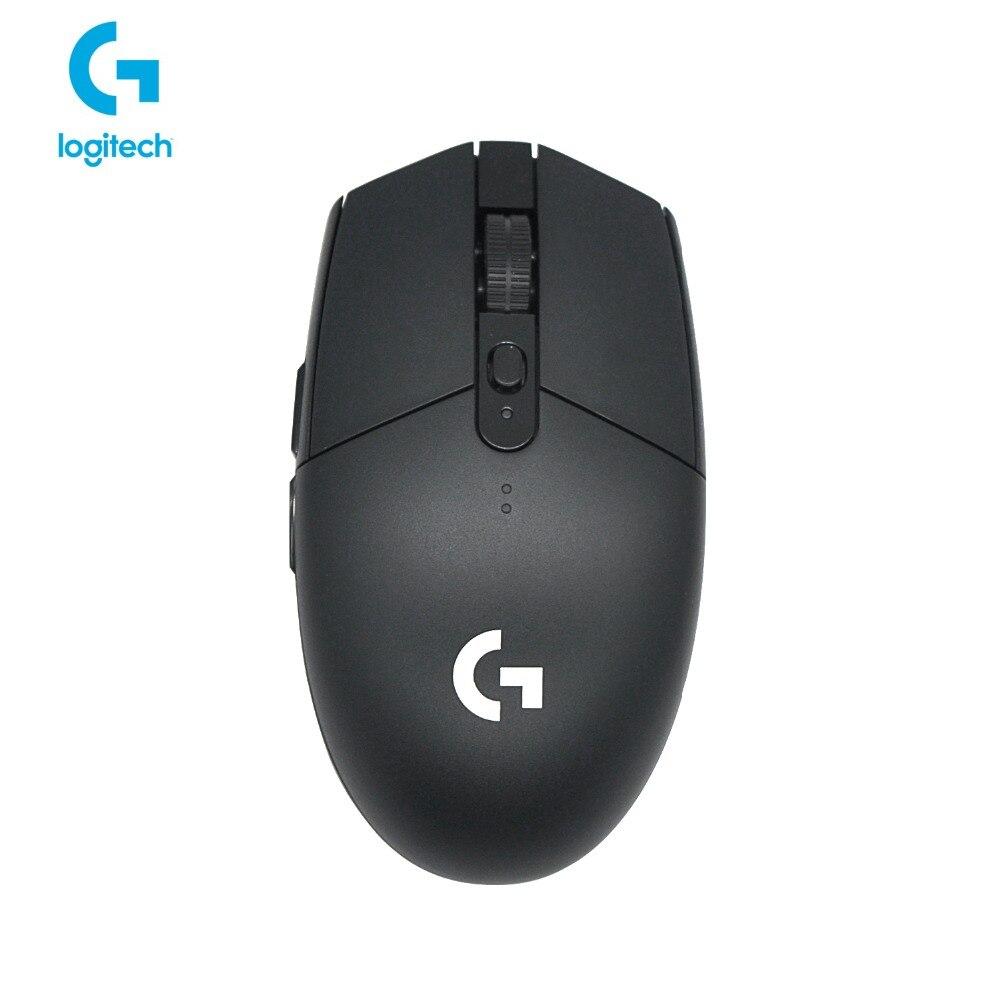 Nouveau produit! Logitech G304 gaming Souris Sans Fil connexions 5AA Batterie alimenté CSGO PUBG joueur Professionnel choix