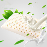 2017 Hot sale High Quality Natural Latex Pillows Neck care Memory Latex Cervical Orthopedic Travel Sleeping Bedroom Pillow