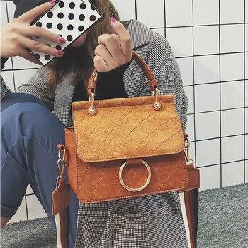 Bolsa Feminina Retro Purses Handbags Vintage Women Shoulder Messenger Bag High Quality Female Shopper Bags Lady Crossbody Bag