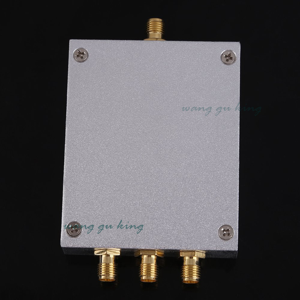 Free shipping Direct Marketing 380~2500MHz 3-way SMA Power Divider/Splitter For GSM&CDMA&DCS Signal Booster Repeater