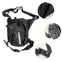 1 Piece Motorcycle Riding Leg Bag Fuel Tank Fishing Multi-function With Reflective Strip