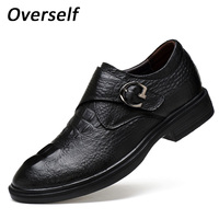 Big Size Formal Shoes Genuine Leather Man Flat Spring Classic Men Dress Shoes Handmade Italian Oxford