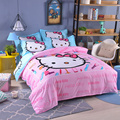 UNIKIDS Cute cartoon duvet cover set  bedding set for Kids boy or girls Twin size  KT011