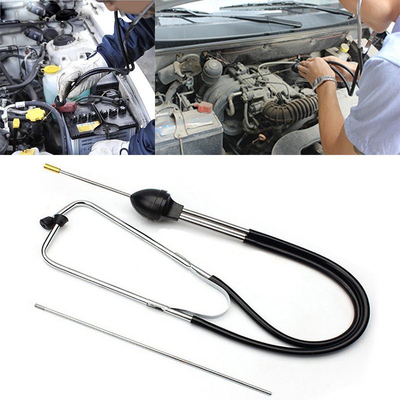 1PCS Car Cylinder Stethoscope Diagnostic Tool Engine Cylinder Noise Tester Detector Auto Abnormal Sound Diagnostic Device